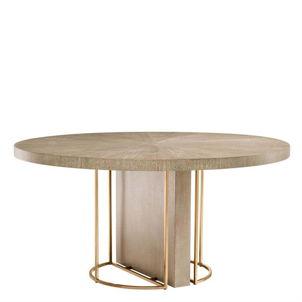 Remington Round Dining Table By Eichholtz Uber Interiors