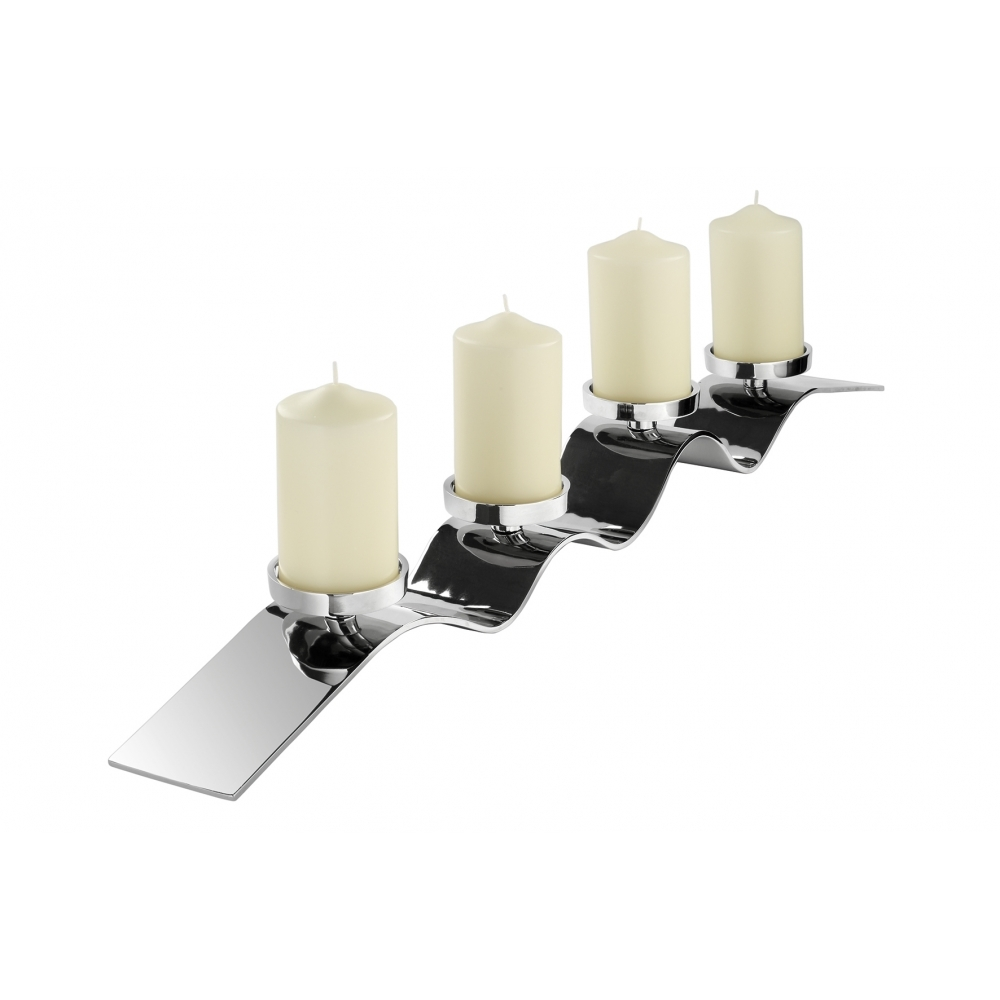 Wave Candle Holder By Fink Uber Interiors