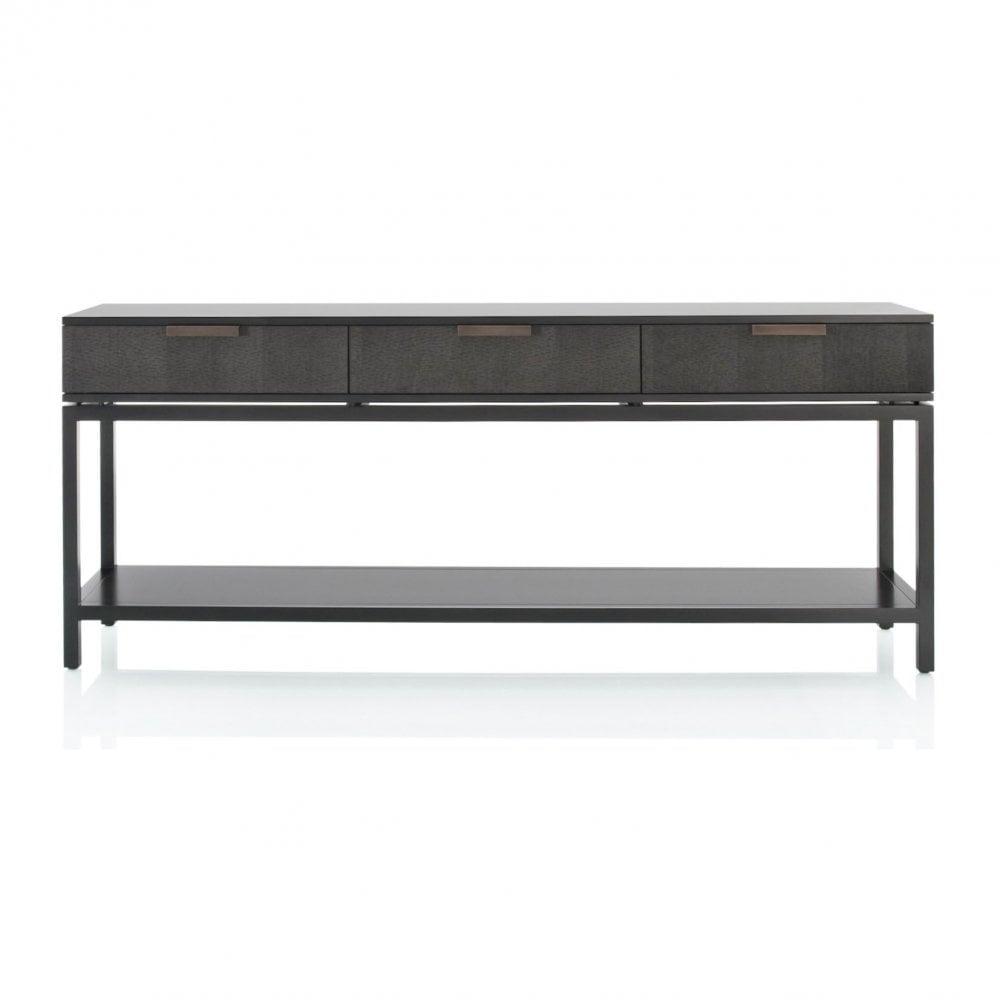 Pleasant Trenta Due 3 Drawer Console Table Interior Design Ideas Oxytryabchikinfo