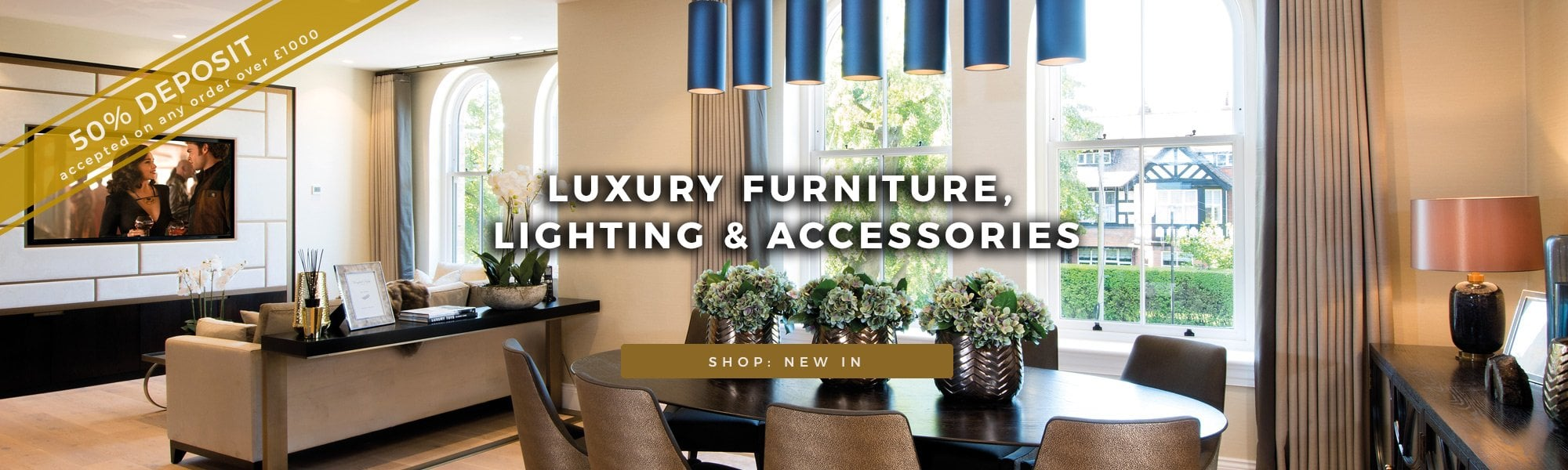 Luxury Furniture, lighting and Accessories