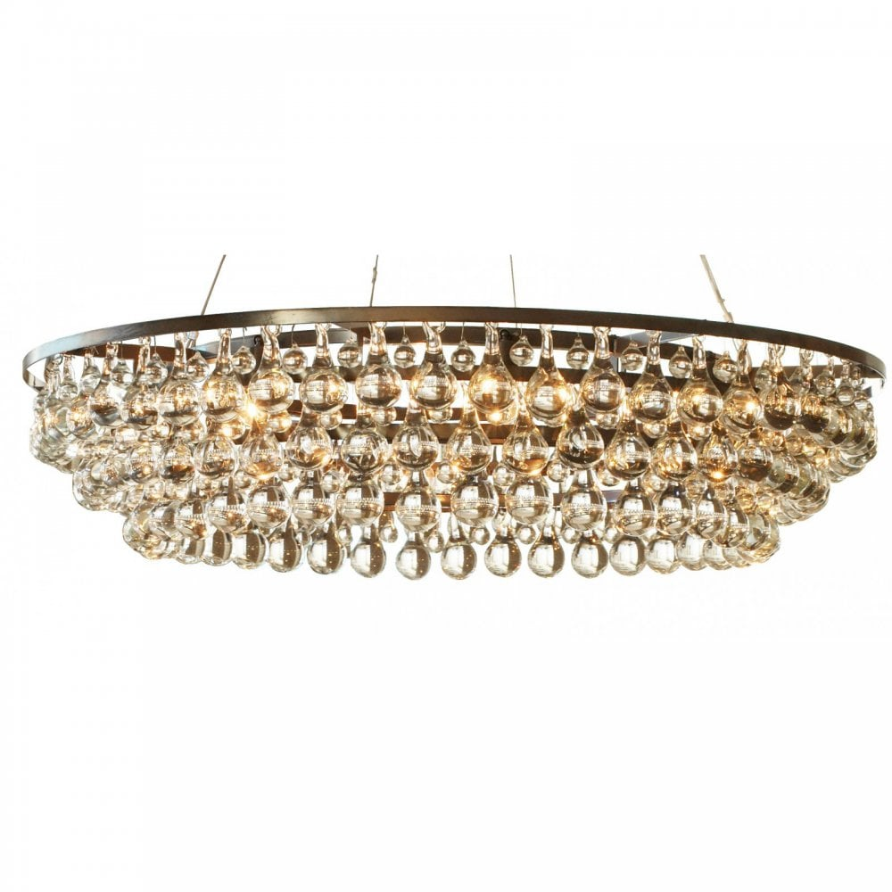Arctic Pear Chandelier Round 120 By Ochre Uber Interiors