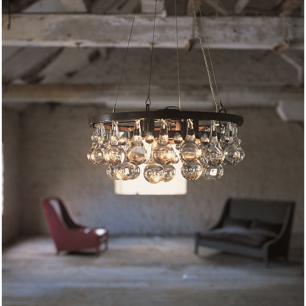 Arctic Pear Chandelier Round 45 By Ochre Uber Interiors