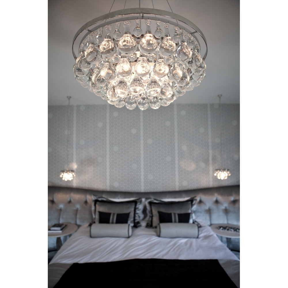 Arctic Pear Chandelier Round 60 By Ochre Uber Interiors