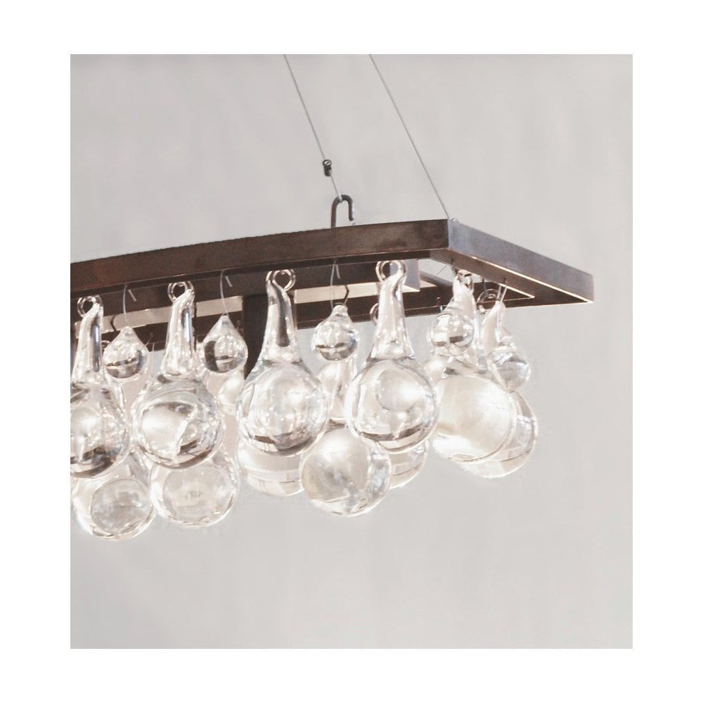 Arctic pear chandelier single wave by ochre uber interiors arctic pear chandelier single wave aloadofball Images