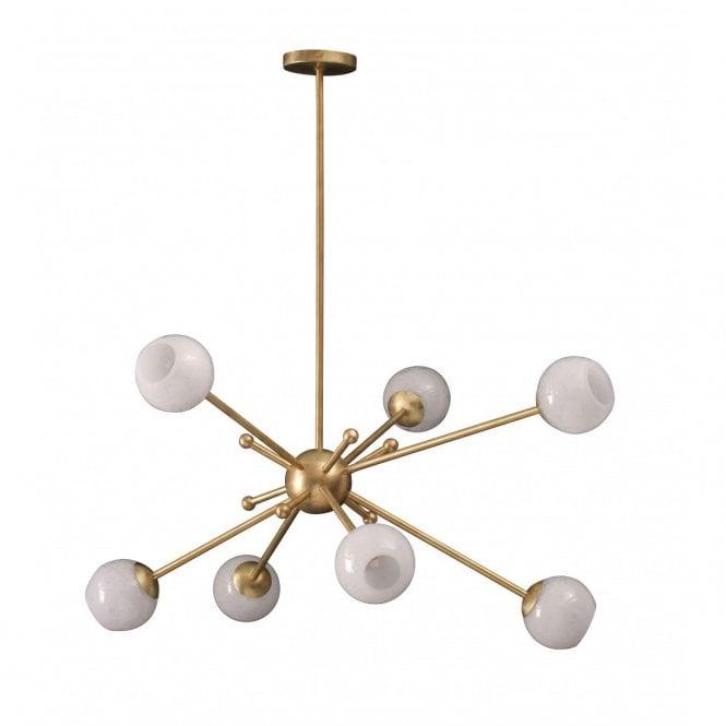 Lollipop Chandelier By Porta Romana: Orbit 2 Chandelier By Porta Romana