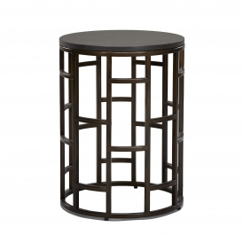Casablanca Oval Side Table by Robert Langford | UBER Interiors