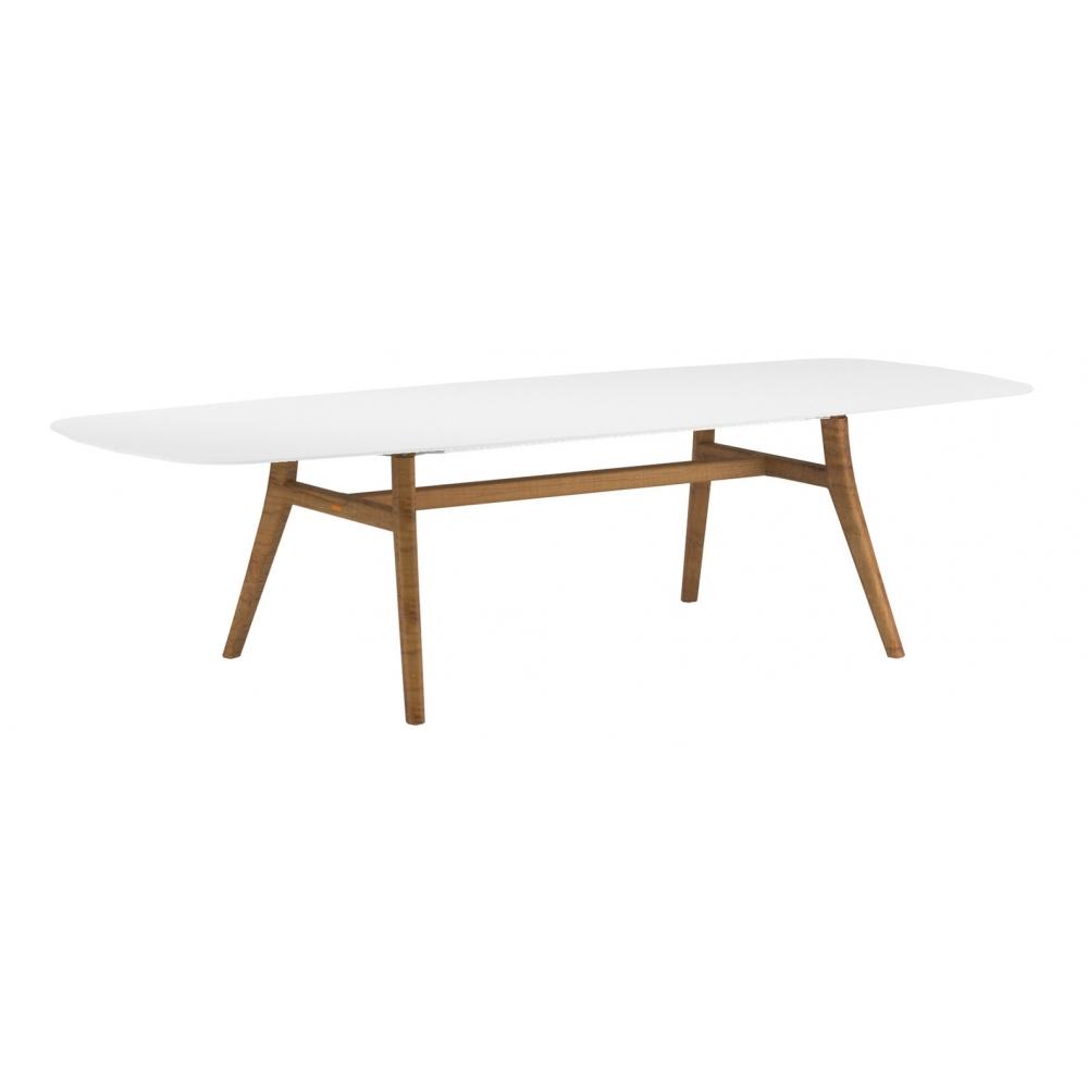 Zidiz Large Rectangular Dining Table By
