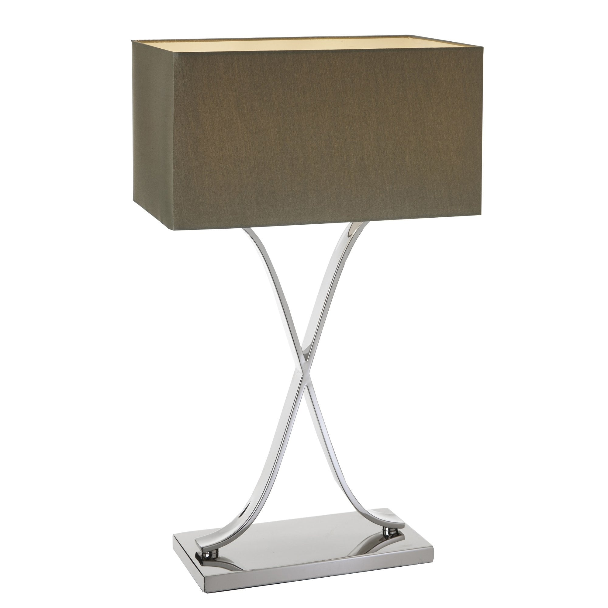 Byton Tall Nickel Table Lamp By Rv Astley Uber Interiors