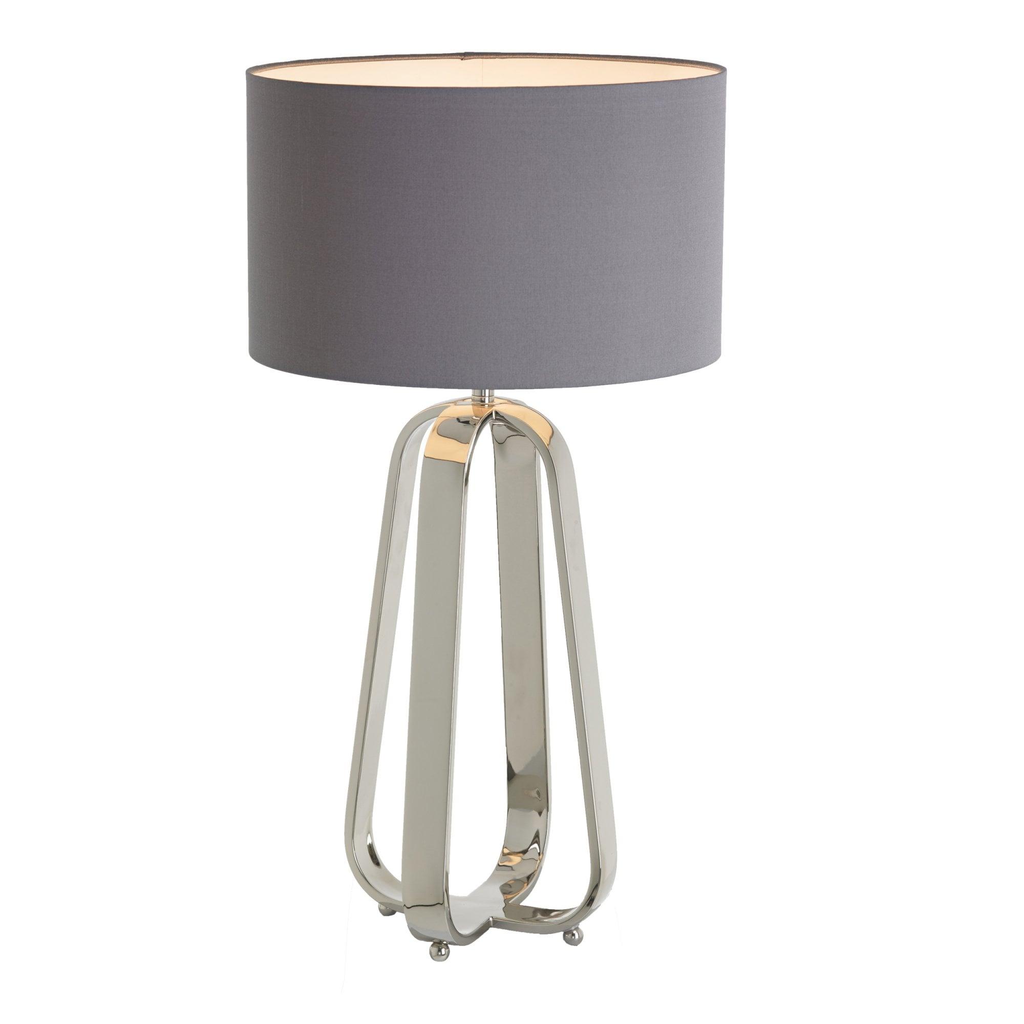 Victoria Nickel Table Lamp by RV Astley