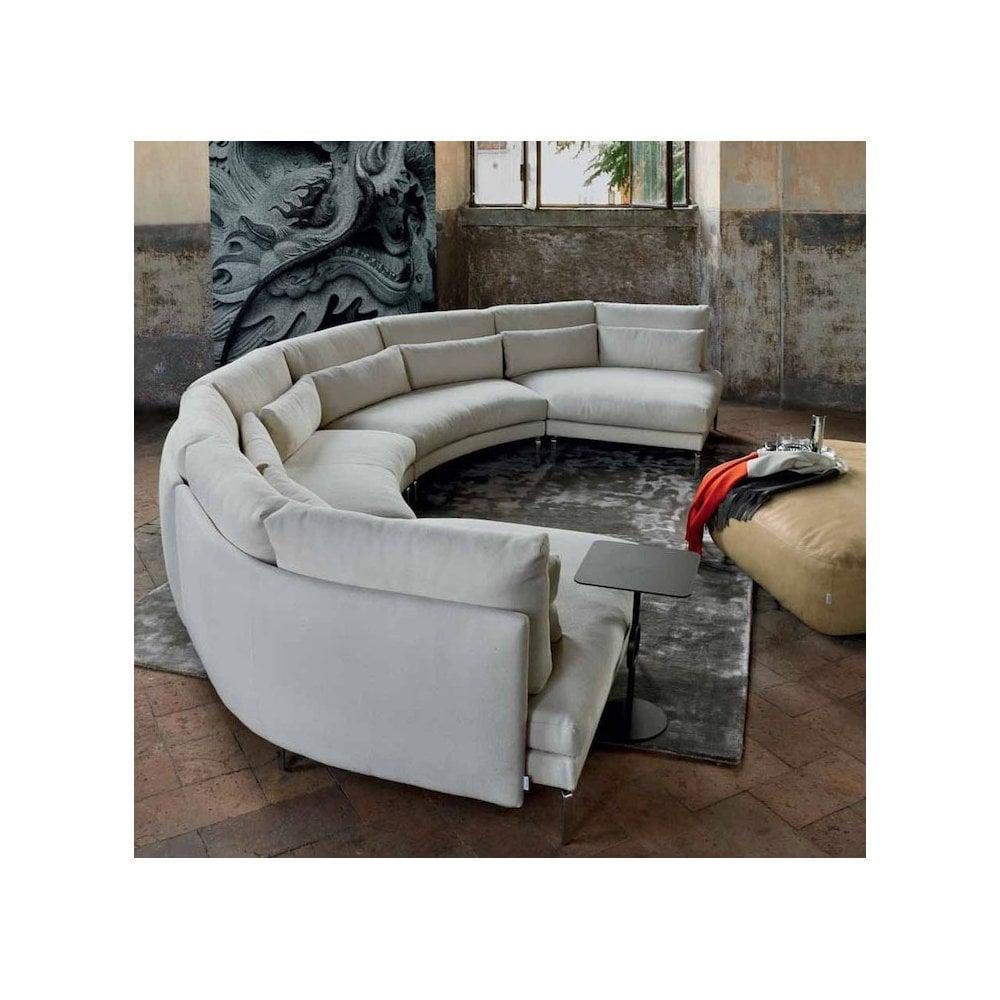 Semi Circular Sofa By Swan Italia
