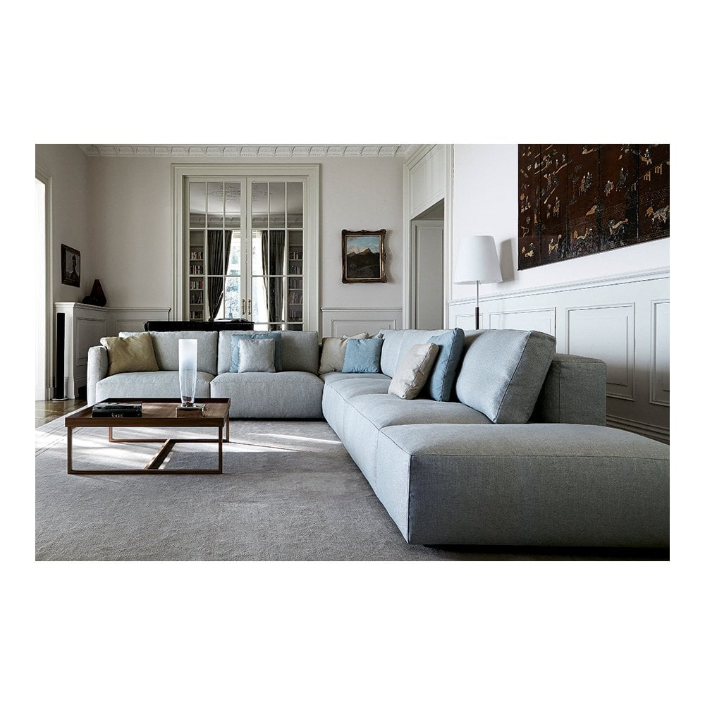 Le Nuvole Large Corner Sofa And Pouf
