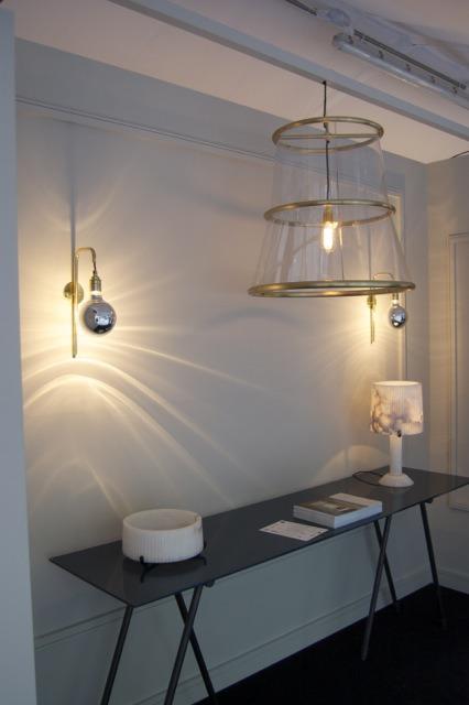 Bell Pendant and Big BUlb wall lights CTO Lighting