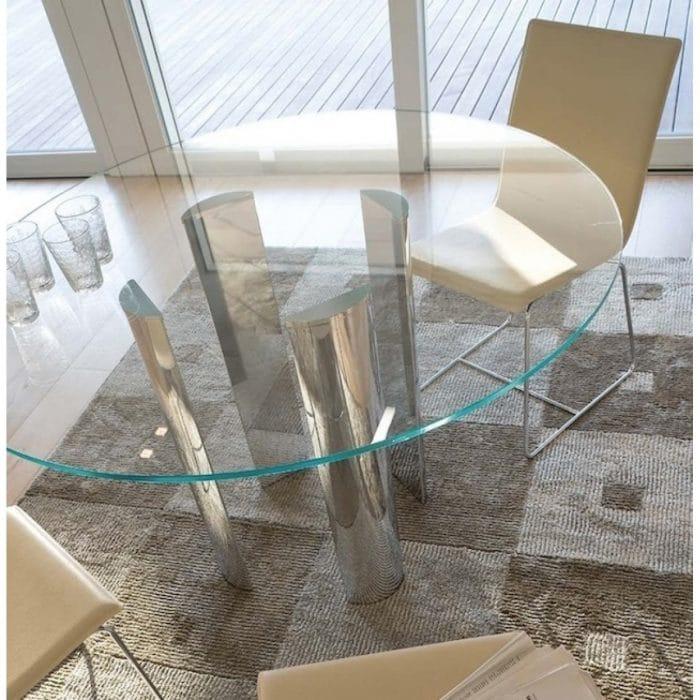 Antonello Italia Scott Large Round Dining Table