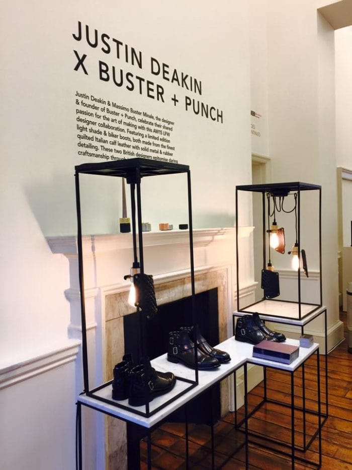 Buster + Punch's Stall at London Fashion Week 2015
